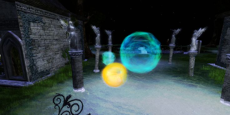Orbs at the Mysts