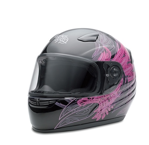 Harley Davidson Women's Motorcycle Helmet  (Used Full Face Ladies Biker Helmets)
