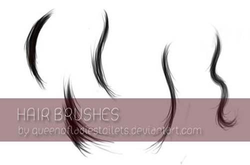 100+ Free Hair Brushes For Photoshop Users | Photoshop