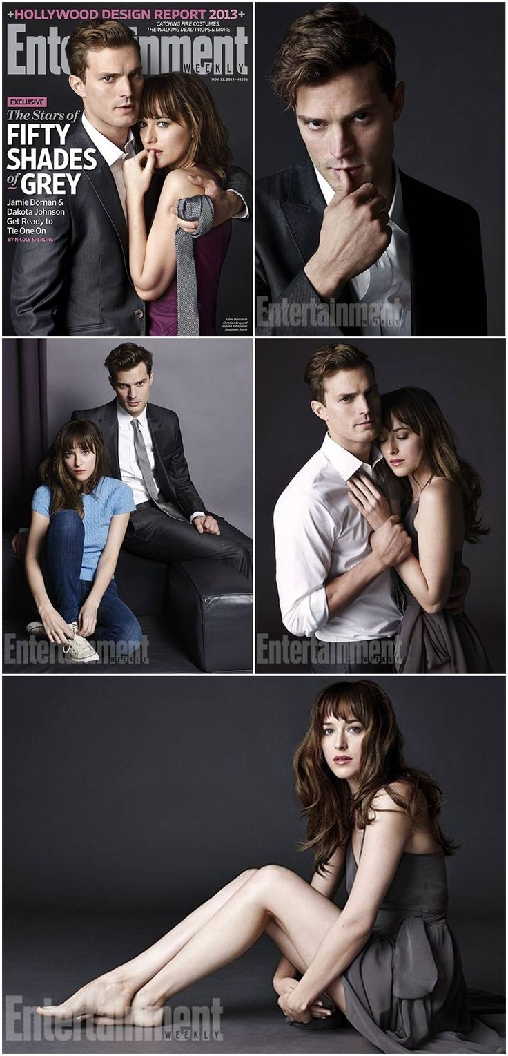 'Fifty Shades of Grey': First Character Photos - Jamie Dornan as Christian Grey and Dakota Johnson as Anastasia Steele.