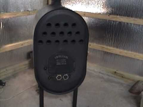 $10 Wood Stove Made From Propane Tanks - DIY Backyard Mechanic - YouTube