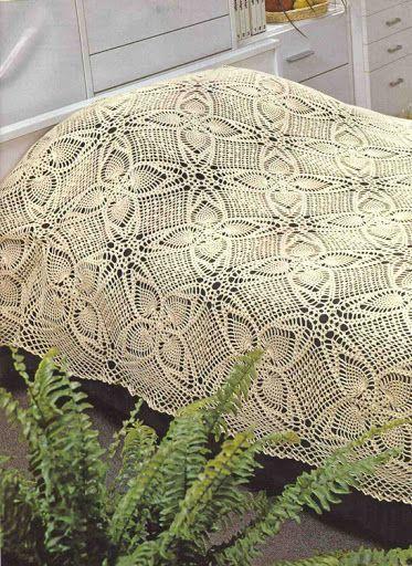The 155 Best Crochet Bedspread Images On Pinterest Bedspread Knit