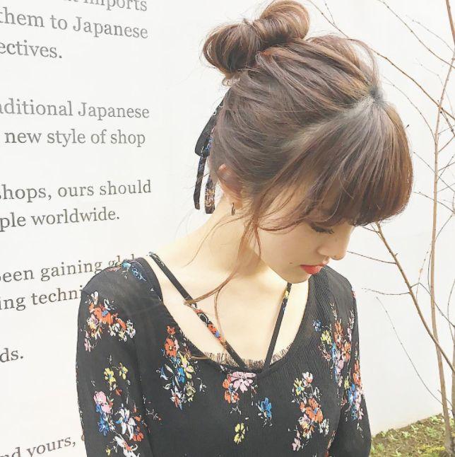 Japanese Hairstyle I Pin By Aki Warinda