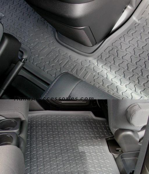 Honda element all season floor mats (03-10)- Front and back floor mats- $114