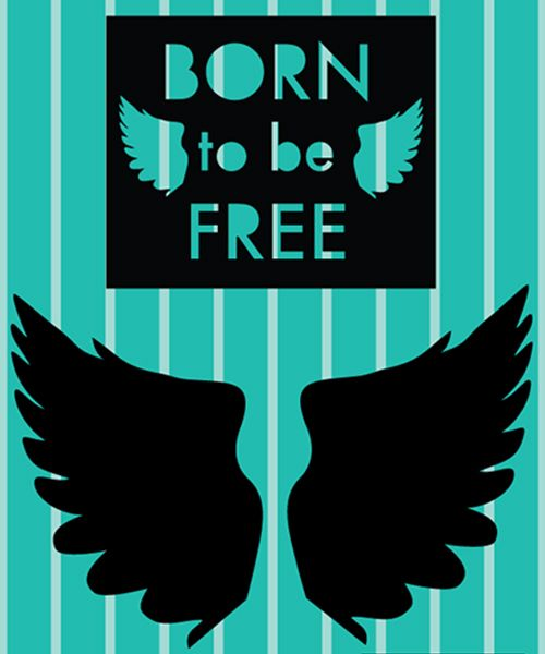 Parche FREE. Nacido para ser libre como tu... personaliza tu mensaje en tus camisetas o sudaderas. Crea tu propia tendencia mini me en #MimetteShop