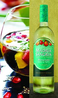 Madria Sangria - Tropical Storm Watch Sangria Recipe