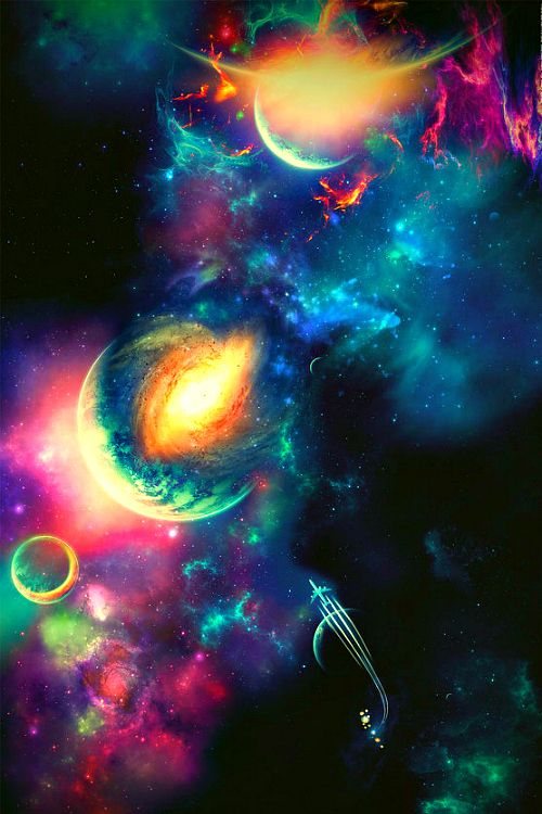 95 best images about planets and outer space things on for Outer painting design