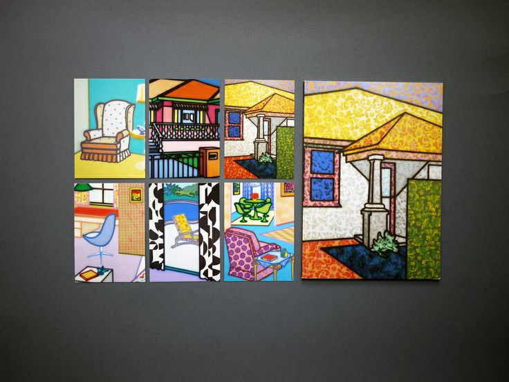 Postcards for the 48th Venice Biennale 1999 Howard Arkley