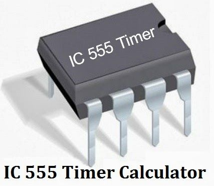 IC 555 Timer Calculator with formulas & Equations