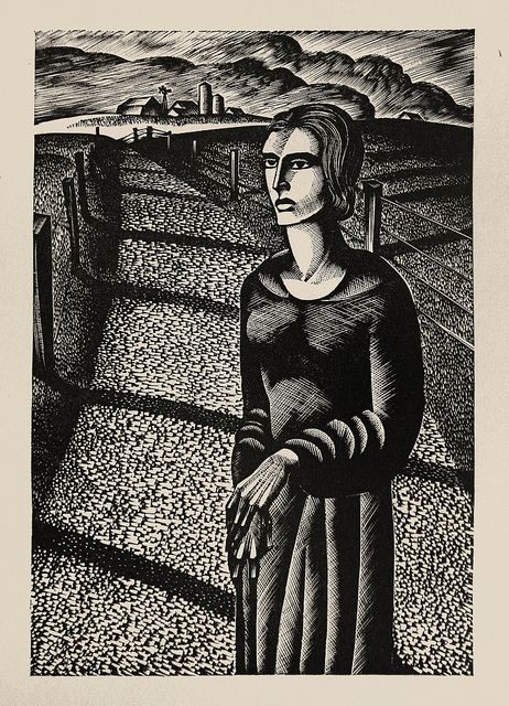 "Lynd Ward - Wood Engraving for Alec Waugh's ""Most Women..."" (1931) by Thomas Shahan 3, via Flickr"