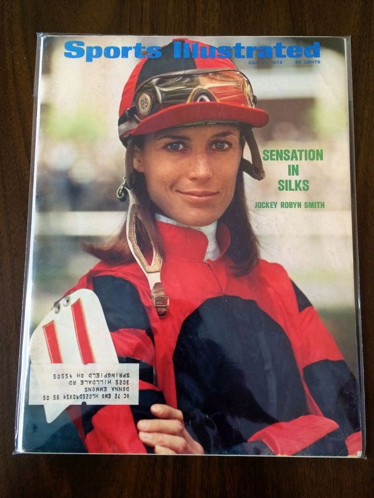 july 1972 sports illustrated si horse racing female jockey robyn smith ex ml  from $12.0
