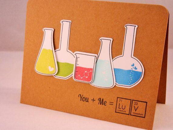 Geeky Valentine Card, I Love You Card, Anniversary Card, Geekery, Geek Card, Nerd Card