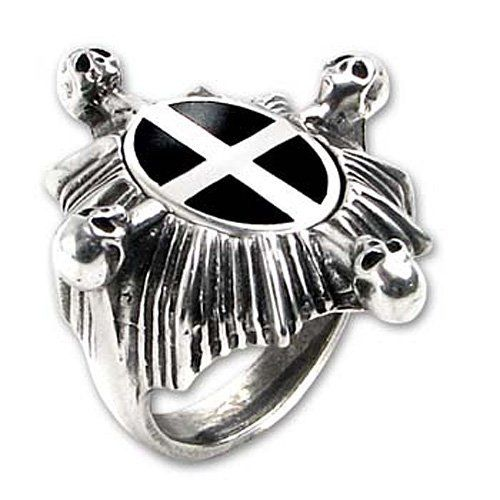 Saint Ankou's Shield Ring Alchemy of England. $57.99