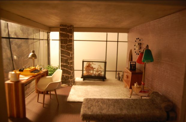 Retro dolls house - Interior