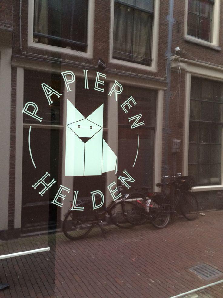 Papier helden Amsterdam