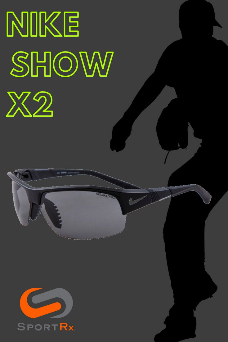 7c948d539a Shop the Nike Show X2 sunglasses available in prescription and  nonprescription.
