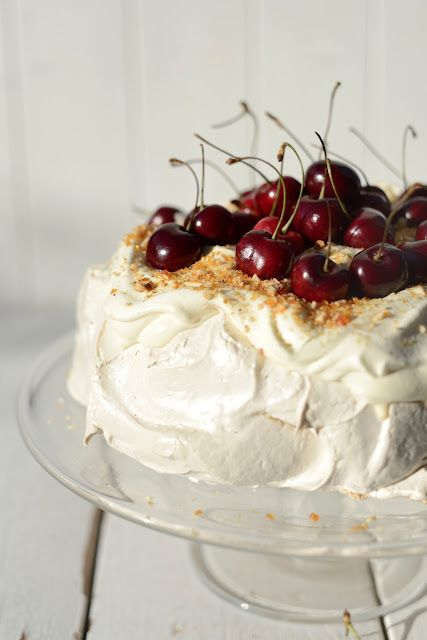 From The Kitchen: Brown Sugar Pavlova (New Zealand's national dessert...not usually with brown sugar!)