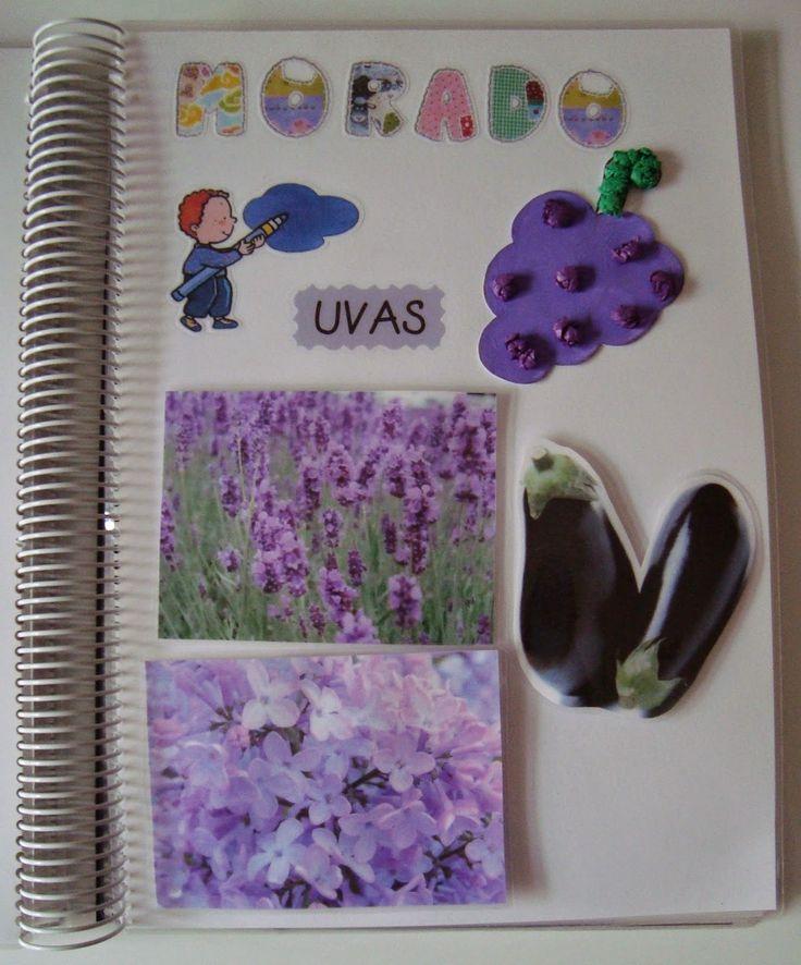 Libro de los colores    Os voy a enseñar unos de los libros que elaboré en 3 años. Éste en concreto lo hice para que los niños se aprendie...