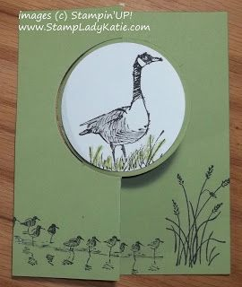 "Wetlands, Circle Card Thinlit, 2-1/2"" Circle punch (closed)"