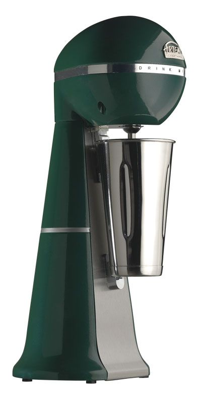 A-2001 Green Colour Drink Mixer with inox cup