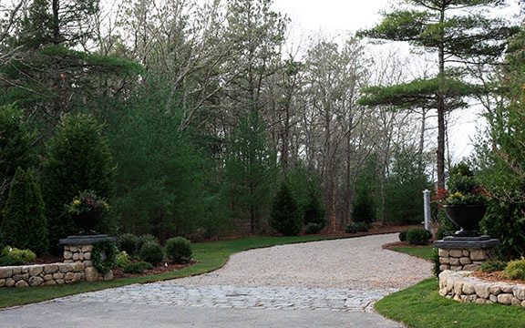11 best images about driveways on pinterest stained for Cape cod stone and gravel