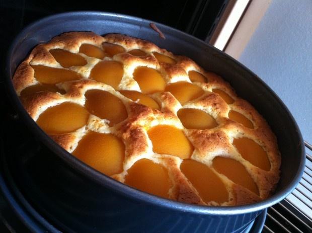 Versunkener Obst-Kuchen