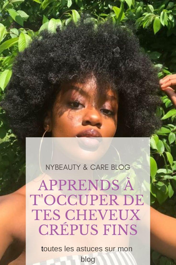 Apprenez à prendre soin de vos cheveux fins et crépus