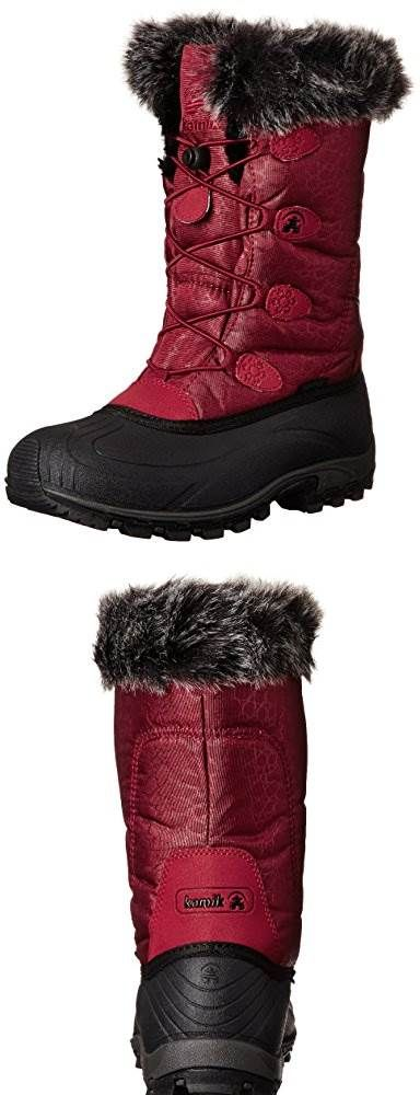 LOOK!  Kamik Womens Momentum Insulated Winter Boot #Shoes