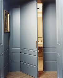 built in wardrobe hidden panelled door - Google Search