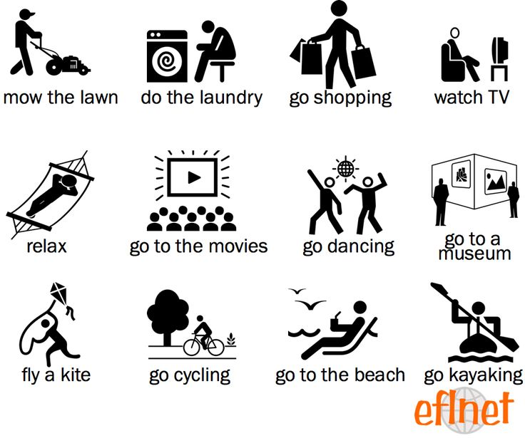 Things to Do on the Weekend - Worksheet 1   EFLnet