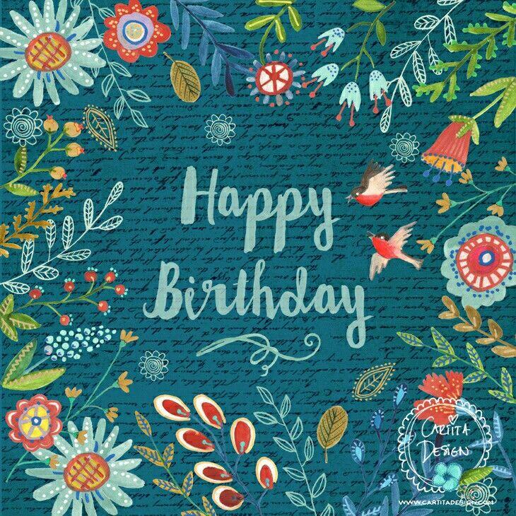 Happy birthday  Cartita Design