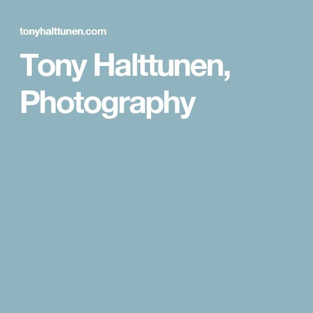 Tony Halttunen, Photography