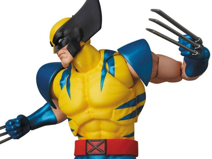 Marvel Mafex No 096 Wolverine Product Description Wolverine In His Classic Yellow And Black Costume From Marvel S X Men Com Marvel Wolverine Action Figures