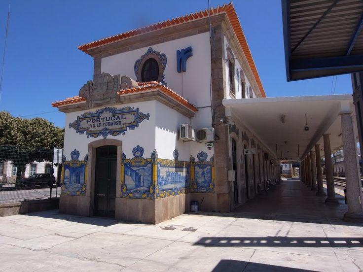 João Alves de Sá   Estação Ferroviária de / Railway Station of Vilar Formoso   1936 #Azulejo #JoãoAlvesdeSá
