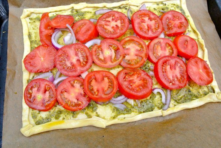 Easy pizza - plaattaart