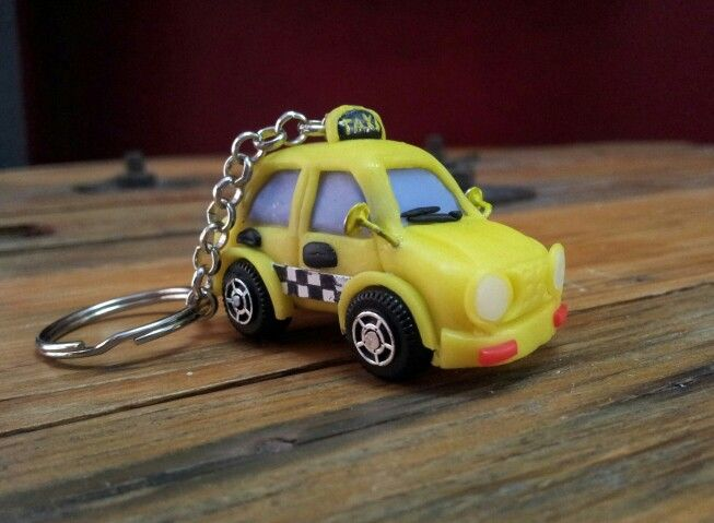 Polymer clay taxi