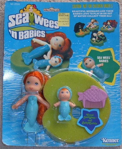 Sea-Wees - completely forgot all about these! The lily pad was a sponge, I loved this toy!