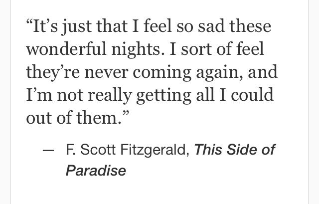 F. Scott Fitzgerald, This Side of Paradise #quotes