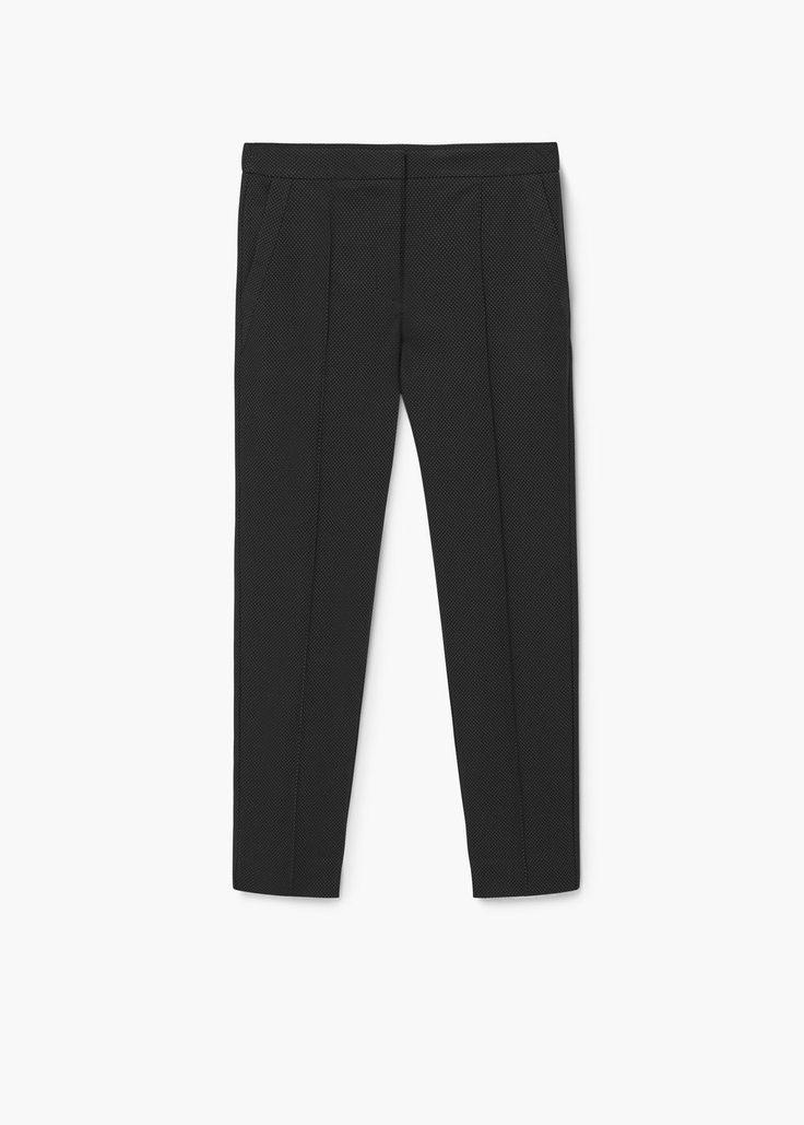 Spodnie w groszki | MANGO