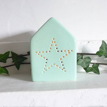 Ceramic House Votive