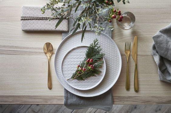 Greenery Christmas decoration ideas