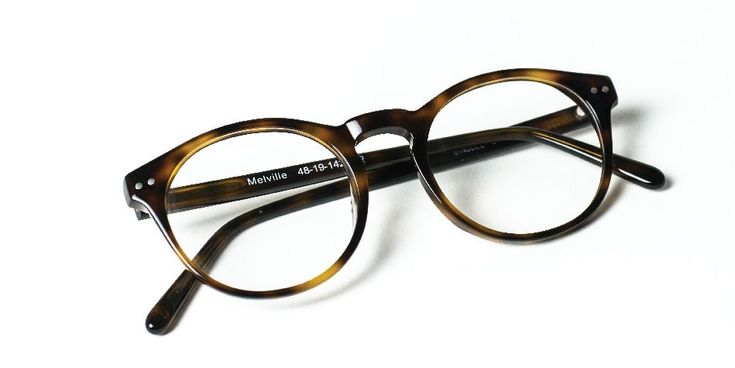 Our Trendy HIpster and Affordable Glasses: the Melville Eyeglasses, in Dark Brown tortoise shell, for a Classy Geek Chic Look