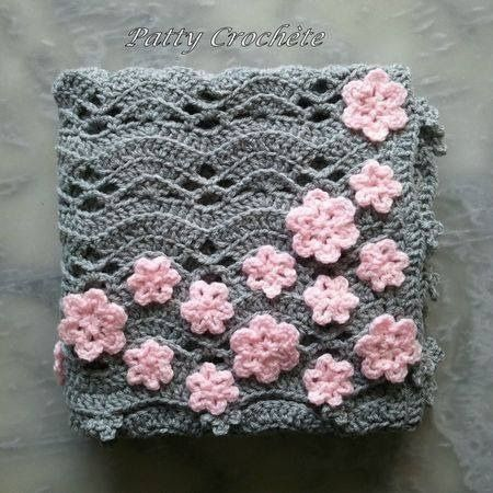 Crochet Patterns Of Baby Blankets : 4306 best Bolsas e sacolas em croch? images on Pinterest