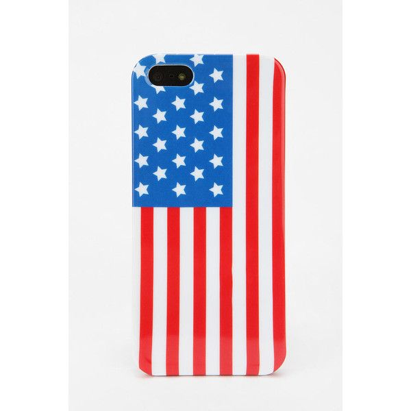 UO Flag iPhone 5 Case ($16) ❤ liked on Polyvore