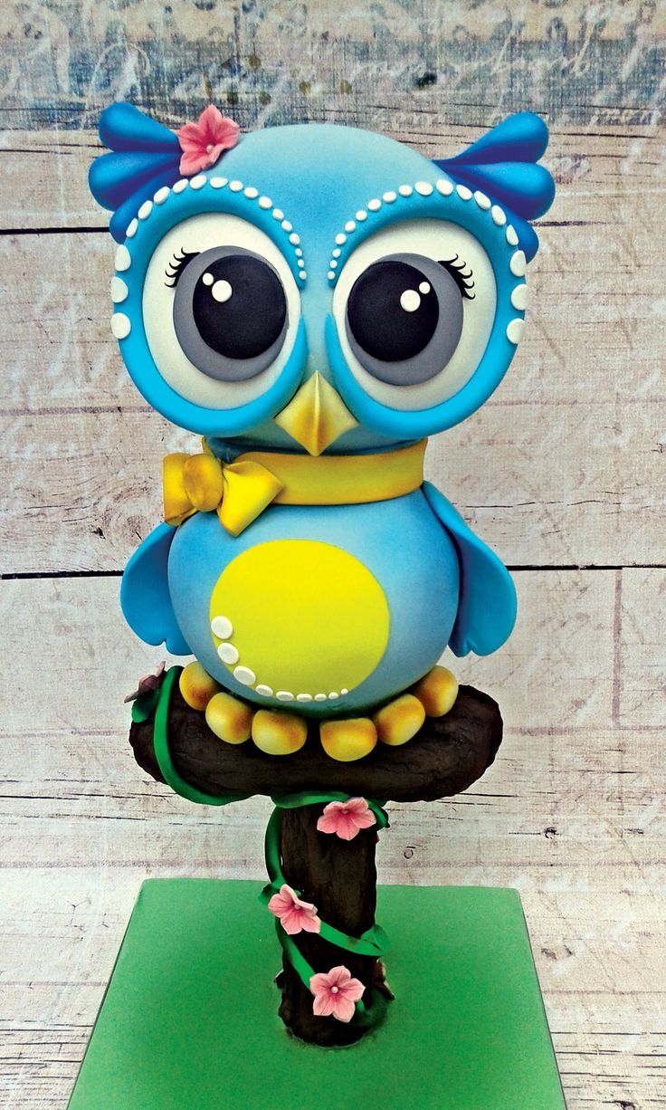 OWL 3d aerial cake