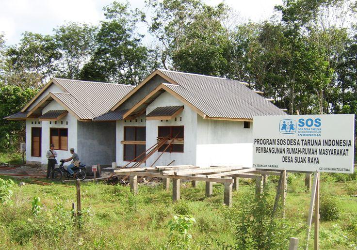 Bantuan rumah type 45 untuk masyarakat desa Suak Raya