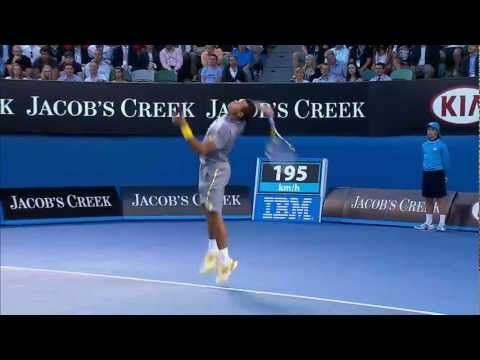 Shot of the Day: Federer Amazing Save (Australian Open 2013)