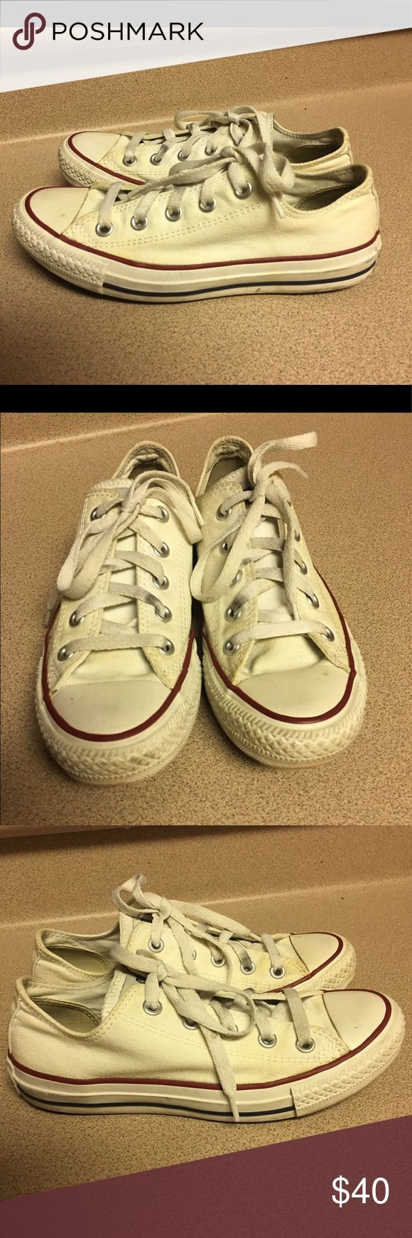 Pre-Owned Converse Classic White Women's 6 Pre-Owned Converse Classic White Women's 6 Converse Shoes Sneakers