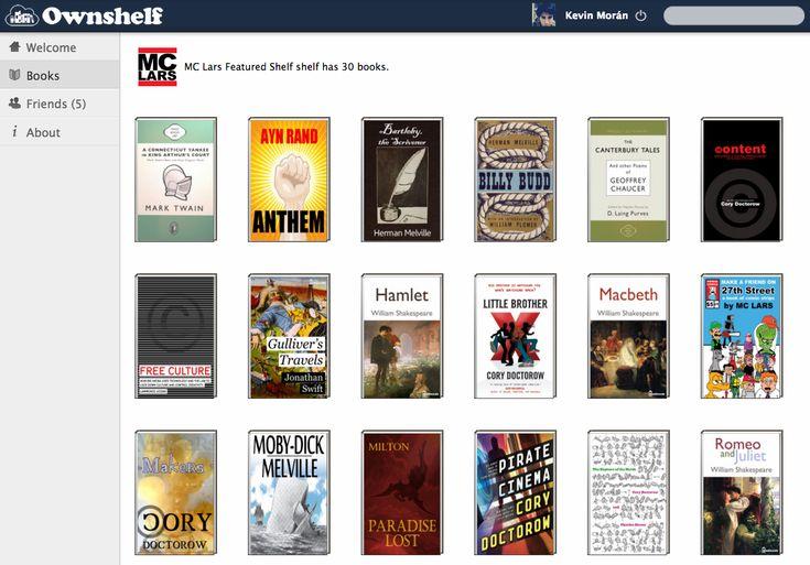 Ownshelf, una gran biblioteca de libros gratuitos que puedes compartir