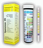 Тест-Полоски индикаторные для качественного и полуколичественного определения:  глюкозы кетоновых тел скрытой крови билирубина уробилиногена нитритов отн. плотности аскорбиновой кислоты белка рН в моче
